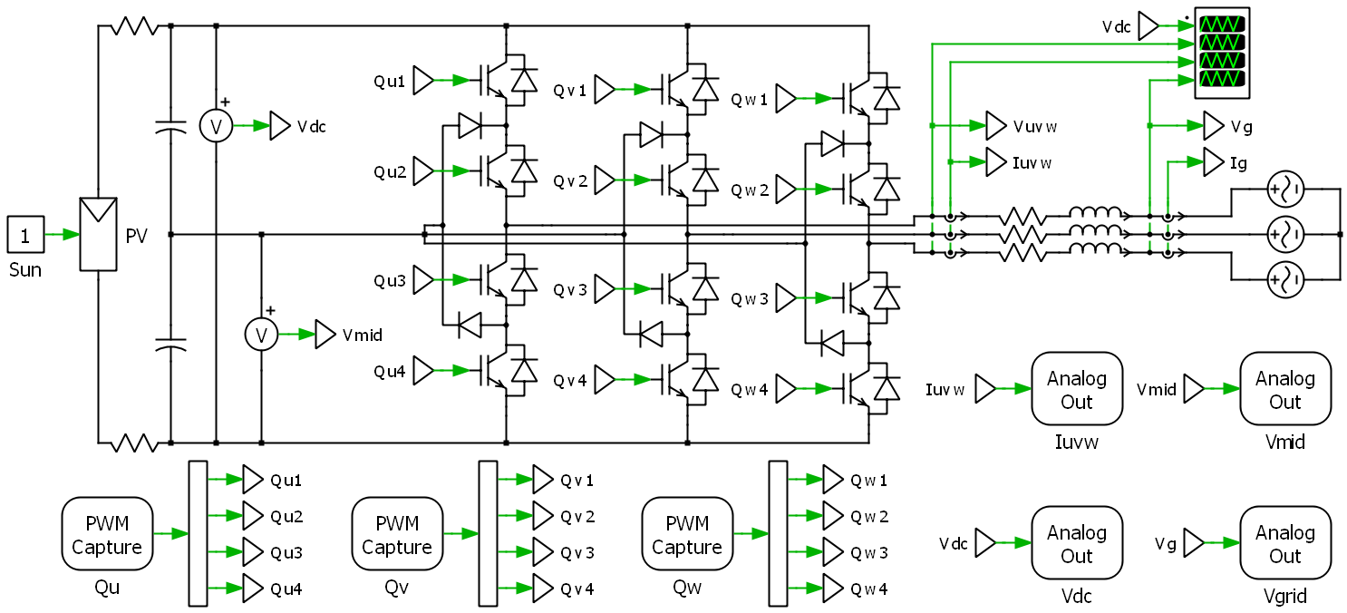 Plecs Coder Plexim Capture And Simulation Of Electrical Circuits The Actual External Mode Allows User To Connect An Offline Model With A Real Time Running On Rt Box In Order Tune Parameter Values