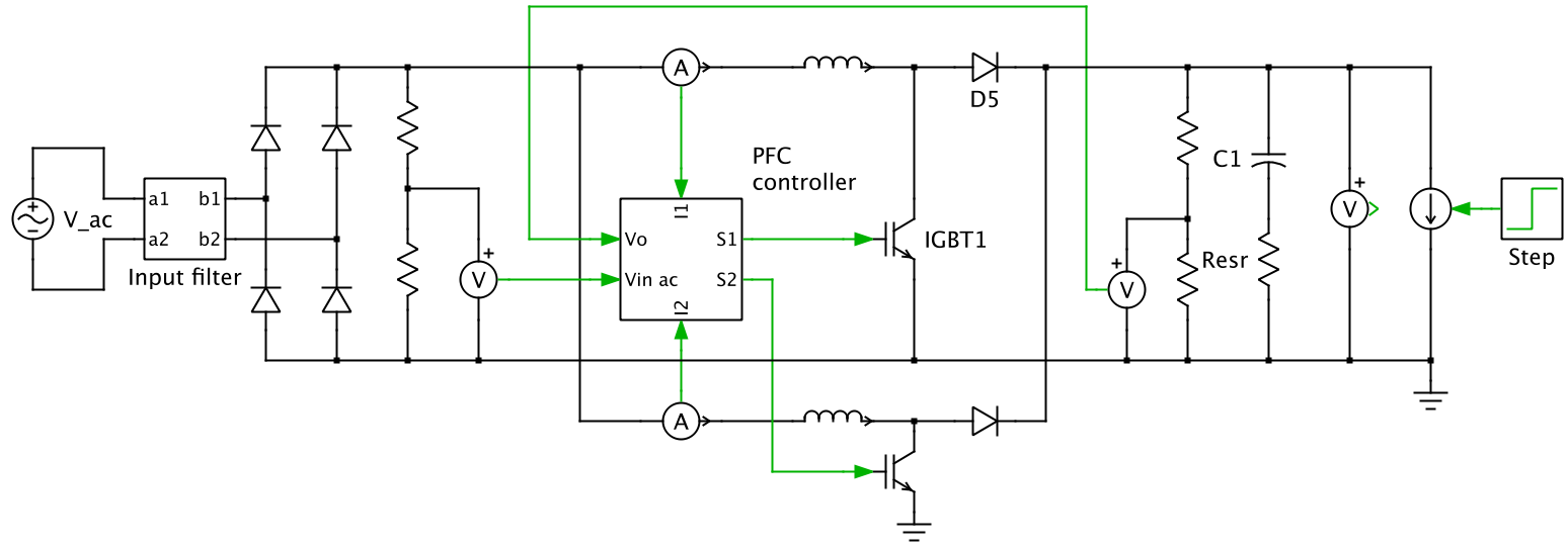 Pfc App Exam Circuit on dc voltage converter circuit